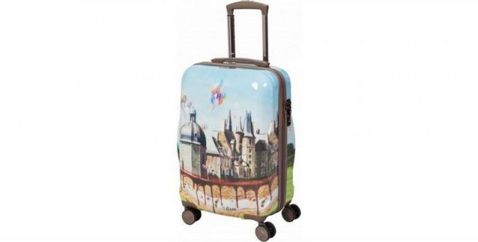 Экслюзивные чемоданы чемоданы на колесиках derbi
