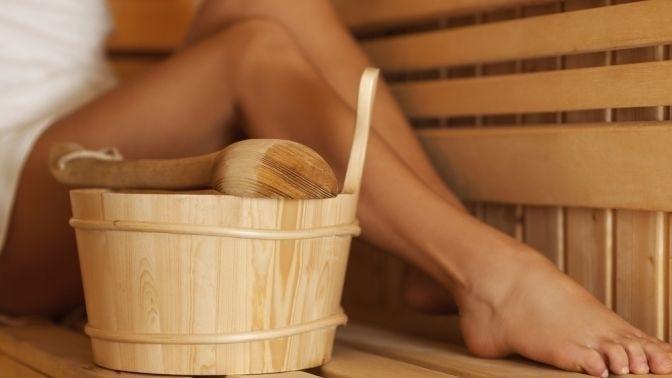 Грибок стопы в сауне