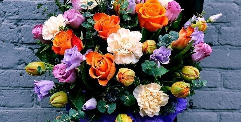 Доставка цветов тюльпанfvb корзина профсоюзная таких заказах нужно использование ярких красочных цветов пакет должен создавать