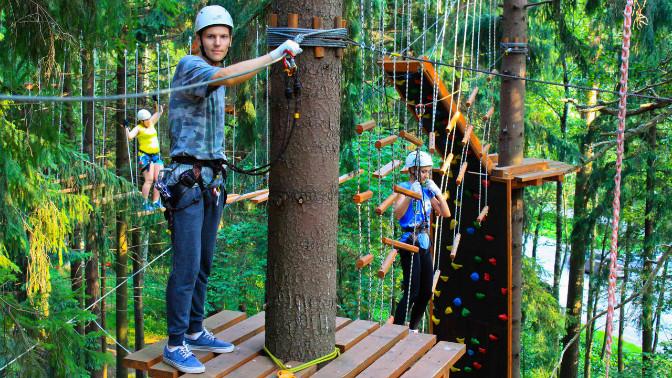 Tree To Tree  Веревочный парк в Репино! Активный отдых на