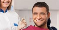 <b>Скидка до 85%.</b> Лечение кариеса сустановкой пломбы, гигиена полости рта счисткой зубов ультразвуковой ипотехнологии AirFlow встоматологии «Имплант»