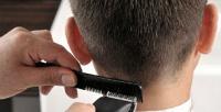 Мужская стрижка, моделирование бороды идетская стрижка вмолодежной парикмахерской One. <b>Скидкадо52%</b>