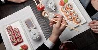 Роллы, суши, сеты, салаты, супы изакуски отресторана доставки «Два самурая» соскидкой50%