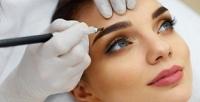 <b>Скидка до 88%.</b> Перманентный макияж бровей, губ или век, микроблейдинг бровей всалоне красоты «Татуаж»