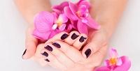<b>Скидка до 51%.</b> Маникюр, педикюр инаращивание ногтей спокрытием гель-лаком всалоне красоты «Амелия»