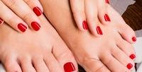 <b>Скидка до 67%.</b> Классический, аппаратный или комбинированный маникюр ипедикюр спокрытием цветным или лечебным лаком либо гель-лаком идизайном 2ногтей всалоне маникюра Nails Berrys