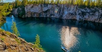 Автобусный тур вКарелию кмраморному каньону «Рускеала» скомпанией «ЯКарелия». <b>Скидкадо53%</b>