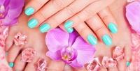 <b>Скидка до 53%.</b> Маникюр ипедикюр спокрытием гель-лаком встудии красоты «Ногти Style»