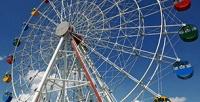 2билета нааттракцион «Колесо обозрения» вЦентральном парке соскидкой50%