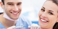 <b>Скидка до 65%.</b> УЗ-чистка, фторирование, чистка зубов потехнологии AirFlow или лечение кариеса сустановкой пломбы встоматологическом центре «АриаДент»