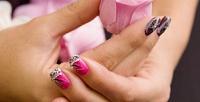 <b>Скидка до 54%.</b> Маникюр ипедикюр навыбор, гелевое наращивание либо акриловое укрепление ногтей, медицинский педикюр всалоне красоты «Монэ»