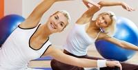 <b>Скидка до 56%.</b> До48занятий фитнесом или растяжкой вцентре танца ифитнеса Diamond