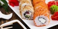 Суши-сеты отсуши-бара «Филадельфия» соскидкой55%
