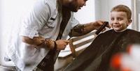 <b>Скидка до 58%.</b> Мужская или детская стрижка, моделирование бороды, комплекс «Отец исын» отбарбершопа Good Times