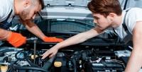 <b>Скидка до 76%.</b> Диагностика автомобиля, замена масла иохлаждающей жидкости, регулировка фар, замена тормозных колодок отавтосервиса «Подорожник Авто»