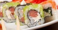 <b>Скидка до 50%.</b> Сеты изроллов исуши отресторана доставки Katana Sushi