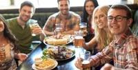 Все блюда изменю без ограничения суммы чека отресторана «Beerлога» соскидкой50%