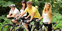 <b>Скидка до 50%.</b> 1, 3часа либо весь день проката велосипеда вбудние ивыходные дни вкомпании «Садись-прокатись»