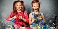 <b>Скидка до 52%.</b> Посещение научного мастер-класса для 1, 2или 3человек вклубе юных химиков «Фарадей»
