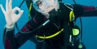 Подарочный сертификат напогружение саквалангом ифотоподарок вклубе подводного плавания «Балтика» (1680руб. вместо 3500руб.)