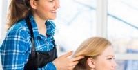 <b>Скидка до 65%.</b> Стрижка, окрашивание, нанесение молекулярной маски, кератиновое выпрямление или биозавивка волос всалоне красоты «Марафет убашни»