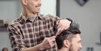 <b>Скидка до 50%.</b> Мужская стрижка, моделирование бороды либо услуга «Отец исын» всети мужских парикмахерских «Стрижевский»