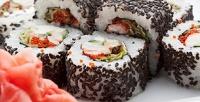 Блюда навыбор отслужбы доставки суши «Ханзо» соскидкой50%
