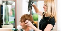 <b>Скидка до 50%.</b> Мужская стрижка соформлением бороды иусов или без либо детская стрижка навыбор всалоне «Карамель»