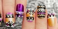 <b>Скидка до 70%.</b> Маникюр ипедикюр спокрытием гель-лаком встудии дизайна ногтей «НаНогти»