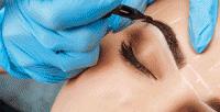 <b>Скидка до 79%.</b> Перманентный макияж губ, век или бровей навыбор всалоне красоты «Сибирский цирюльник»