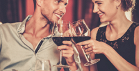 <b>Скидка до 56%.</b> Романтический ужин для двоих или ужин для компании из4человек вконгресс-отеле «Амакс» вресторане «Супер Кузьмич»
