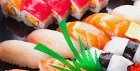 <b>Скидка до 50%.</b> Суши-сеты навыбор отресторана доставки японской кухни «Океан суши»