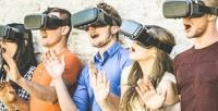 <b>Скидка до 57%.</b> До60минут аренды одного или двух шлемов виртуальной реальности вклубе Parallel Worlds