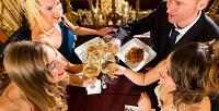 Ужин виспанском стиле для двоих, четверых или шестерых вкафе Hasta laVista. <b>Скидка50%</b>