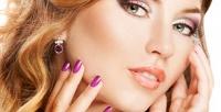 <b>Скидка до 75%.</b> Перманентный макияж, ламинирование, биозавивка, окрашивание, ботокс для ресниц или оформление икоррекция бровей встудии красоты Vobraze