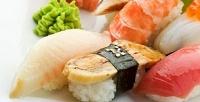 Всё меню японской кухни, напитки ипаровые коктейли откафе Lounge Tche Tche