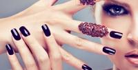 <b>Скидка до 70%.</b> Классический маникюр ипедикюр спокрытием гель-лаком идизайном ногтей всалоне красоты «Миллениум»