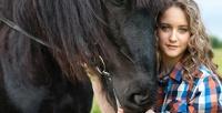 <b>Скидка до 51%.</b> Прогулка налошади, пони, ослике отконного клуба «Ильино»