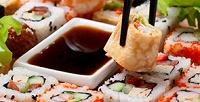 Блюда японской кухни отэкспресс-кафе «Инь-Янь» соскидкой 50%