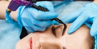 <b>Скидка до 73%.</b> Перманентный макияж бровей ивек, оформление иокрашивание бровей, ламинирование иокрашивание ресниц всалоне красотыEl