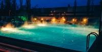 Целый день отдыха спосещением бассейна, белой бани, ИК-сауны, зоны слежаками, летней веранды ресторана втермальном комплексе Greenwich Park (375руб. вместо 750руб.)