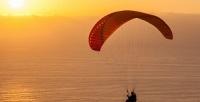 <b>Скидка до 53%.</b> Тандемный полет напараплане ввыходной день отпарапланерного экстрим-клуба «Летим сомной»