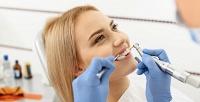 Ультразвуковая чистка зубов,снятие зубного налета иполировка встоматологической клинике «Доступная стоматология» (990руб. вместо 3000руб.)