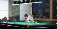 <b>Скидка до 50%.</b> 2или 3часа игры врусский бильярд либо американский пул вконгресс-отеле «Амакс»