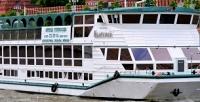 <b>Скидка до 63%.</b> Двухчасовая прогулка натеплоходе для одного собедом или ужином отсудоходной компании «Алые паруса»