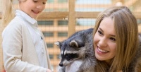 <b>Скидка до 50%.</b> Посещение для взрослых идетей контактного зоопарка «Мир животных»