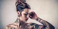 <b>Скидка до 83%.</b> Нанесение художественной татуировки или татуировки ввиде надписи, перманентный макияж встудии татуировки Black Note