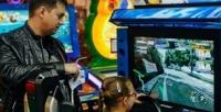 <b>Скидка до 50%.</b> Игровая карта напосещение аттракционов иигровых автоматов вразвлекательном центре «Пушки-Игрушки»
