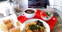 Комплексный обед вкафе отавтомойки «Енот-полоскун» (100руб. вместо 200руб.)
