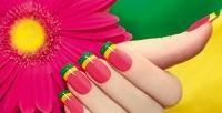 <b>Скидка до 57%.</b> Маникюр ипедикюр спокрытием гель-лаком или наращивание ногтей навыбор всети студий красоты Stud Beauty